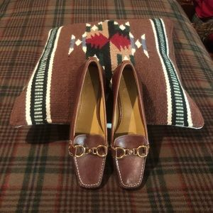 Coke-Haan Air Brown Women's Bit Casual Loafers 8B